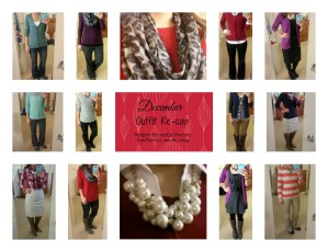 December Outfit Re-Cap Collage