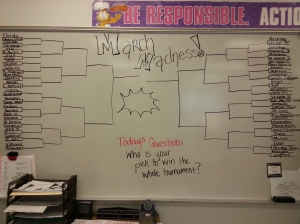 Using March Madness in the classroom