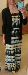 Maxi dress & cardigan :: teacher outfit blog