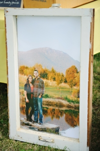 DIY Window Pane with blown up photo