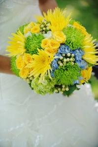 yellow and green wedding