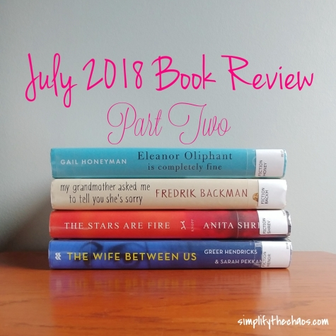 July Book Review Pt 2