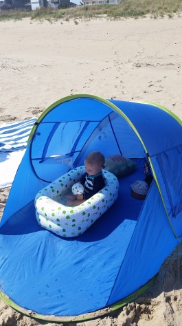 LJ's beach set-up