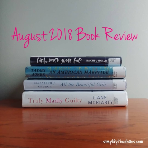August Book Review