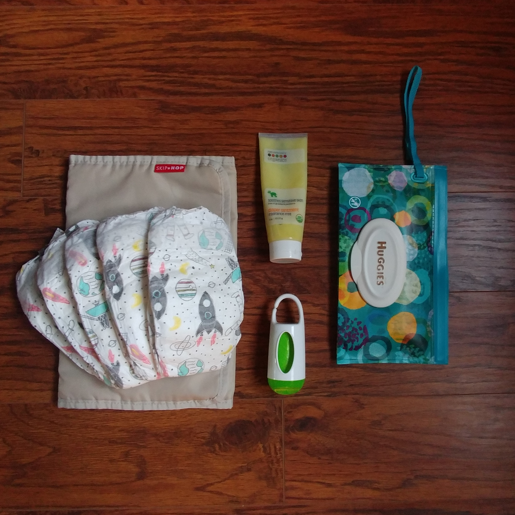 Infant Diaper Items