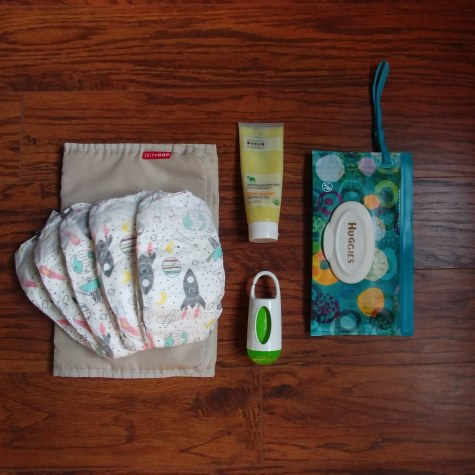 Infant Diaper Items