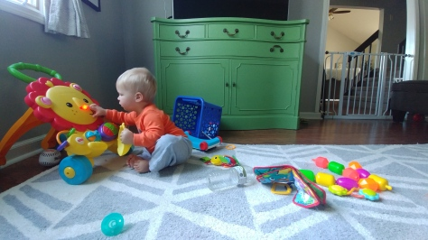 LJ in playroom