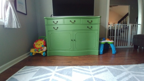 Playroom toy storage 1