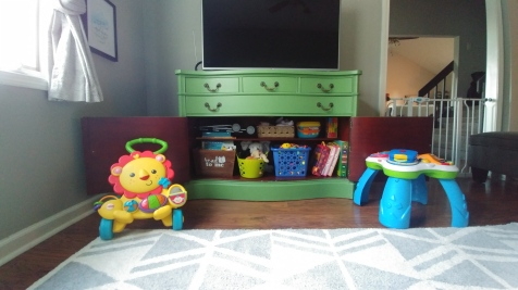 Playroom Toy storage 2