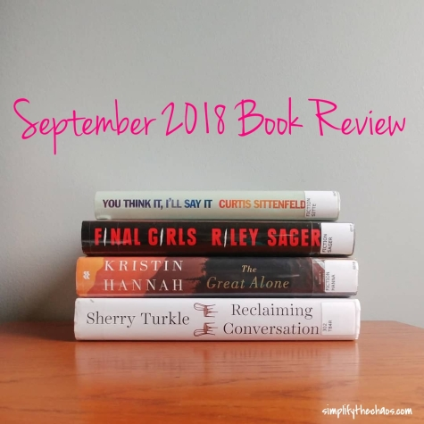 September 2018 Book Review