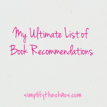 Top Book Recommendations