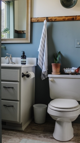 A $0 Bathroom Makeover