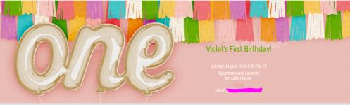 Evite Invitation