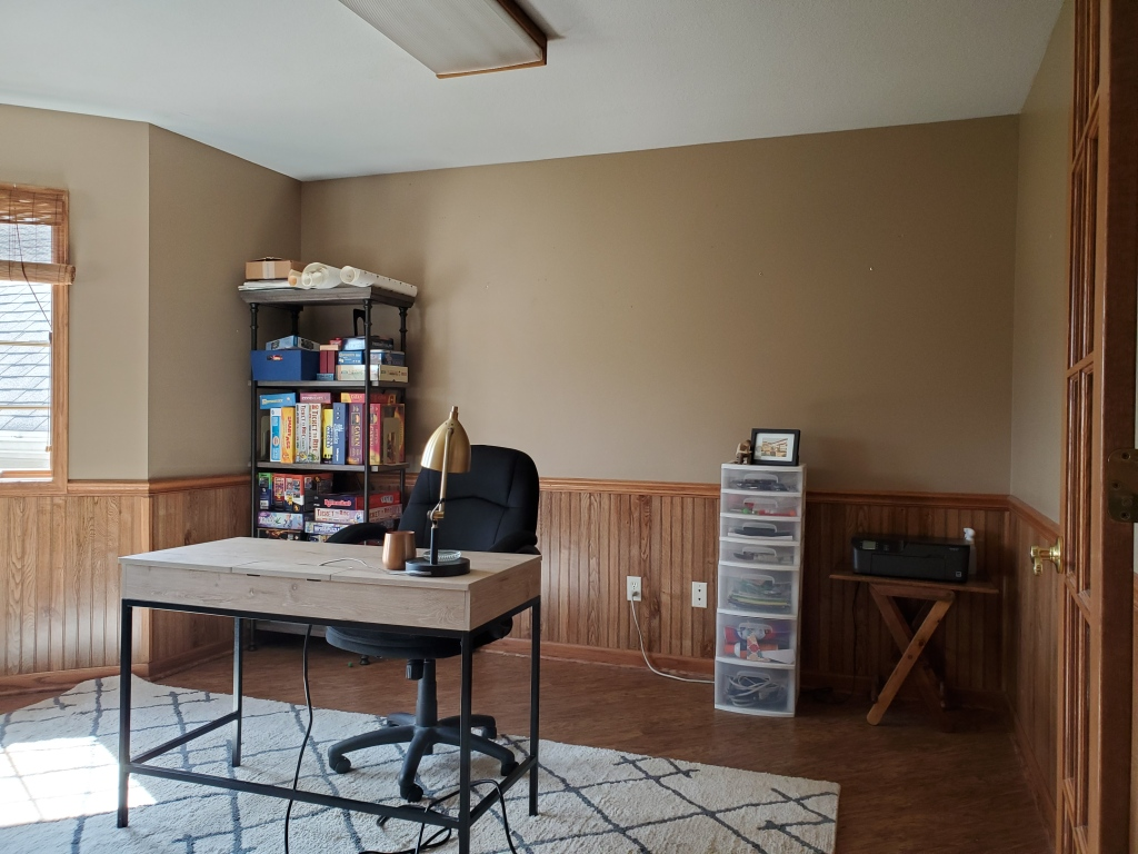 One Room Challenge Home Office Renovation